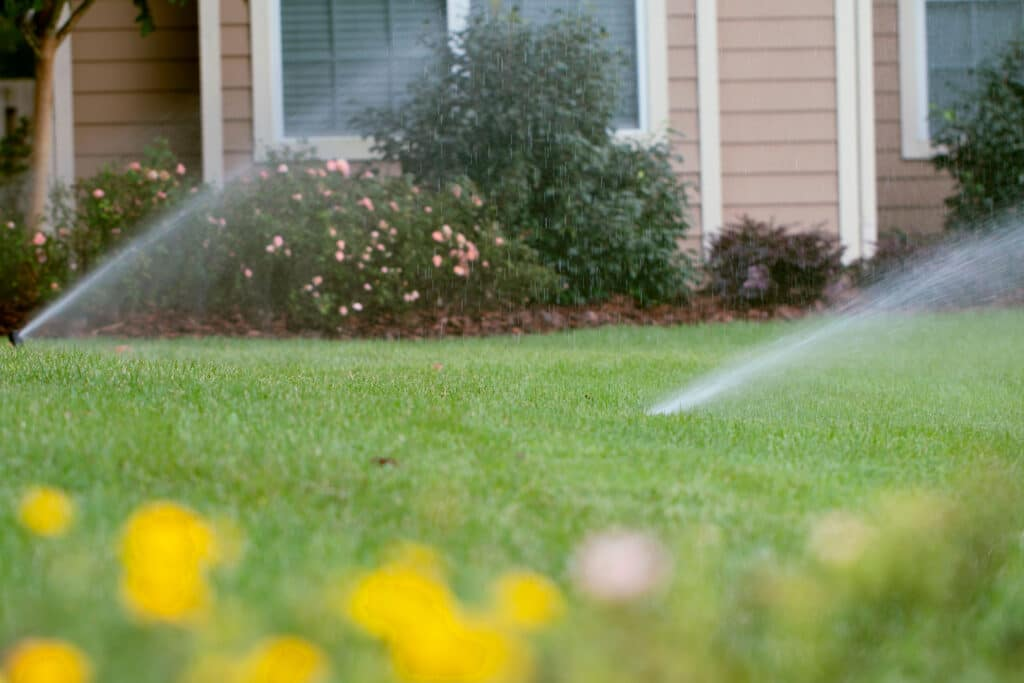 Irrigation sprinkler system SkyFrog Landscape